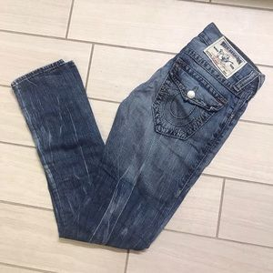Men's Skinny True Religion Jeans